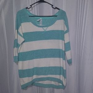 Aeropostale Stripped Soft Sweater XL